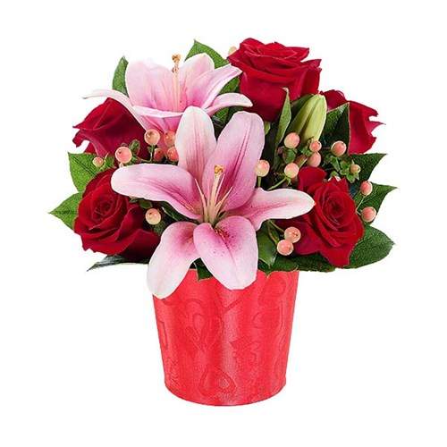My Shimmering Heart Bouquet (BF381-11K)